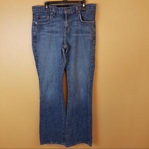 Calvin Klein Flared Denim Jeans